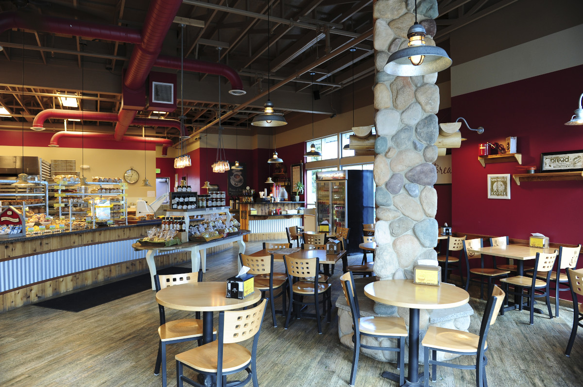 Inside House of Bread, Anchorage Alaska